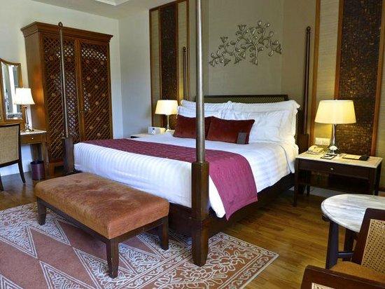 The Danna Langkawi: Comfortable bed, good sleep quality.