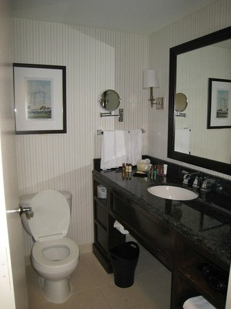 Sheraton Norfolk Waterside Hotel: bathroom