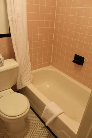 The Clay Hotel: El baño, bien viejito