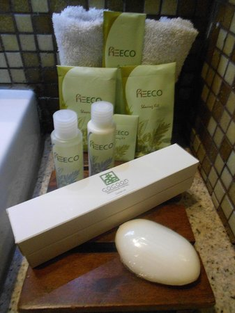 ‪‪The Cocoon Boutique Hotel‬:                   Toiletries