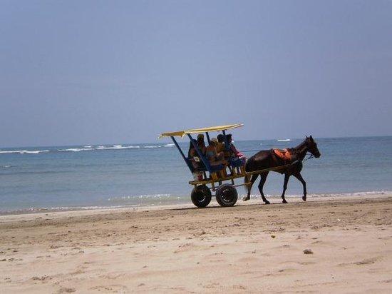 """Quarta Praia : el transporte """"de lujo"""""""