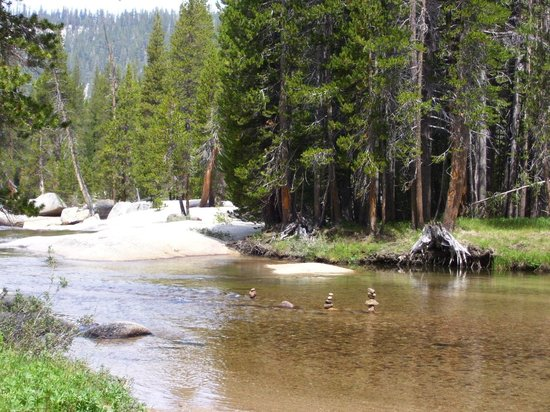 Tuolumne Meadows Lodge: River at Tolumne Meadows campground