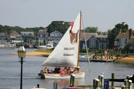 Hyannis Holiday Motel: Take a sunset cruise on Hyannis harbor directly across from our motel