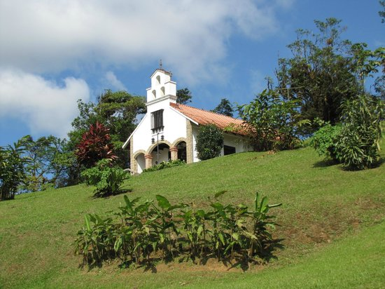 Villa Blanca Cloud Forest Hotel and Nature Reserve: Church/wedding chapel on grounds