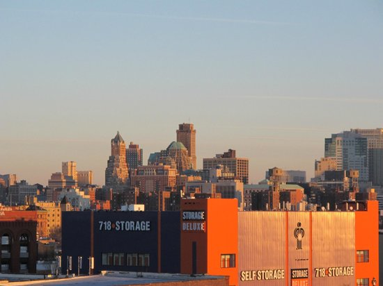 Hotel Le Bleu:                   Manhattan Skyline Detail