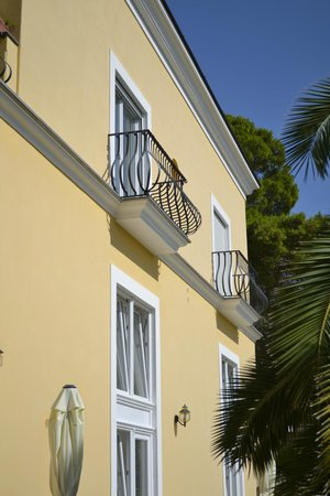 Hotel Villa Ceselle: our small balcony - there was another that was larger