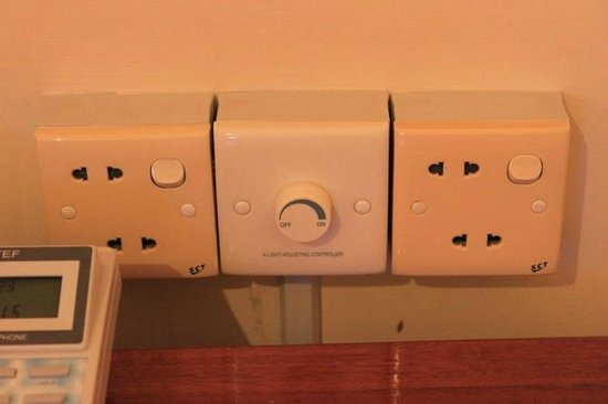 Check Inn Siem Reap:                   Power outlet