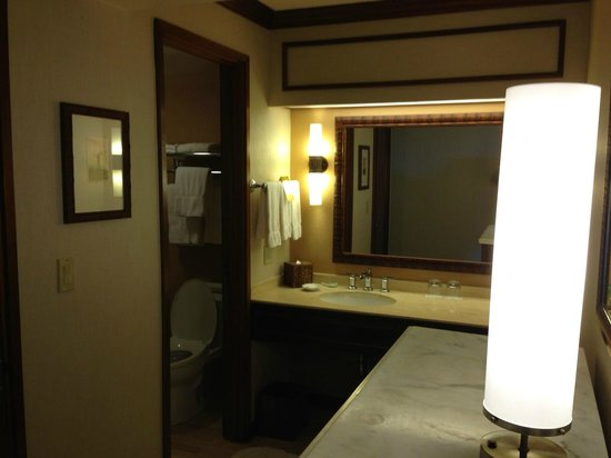 Hyatt Regency Maui Resort and Spa:                   Bathroom area