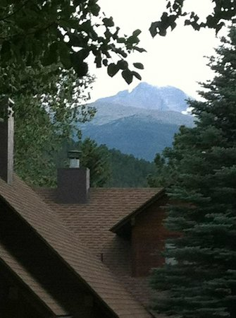 Rams Horn Village Resort:                   View of Longs Peak from Kitchen Window
