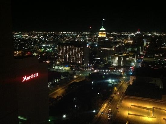 San Antonio Marriott Riverwalk:                   view from 3125
