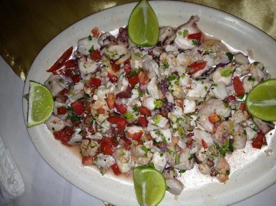 Restaurante Bar Zarabanda:                   Ceviche