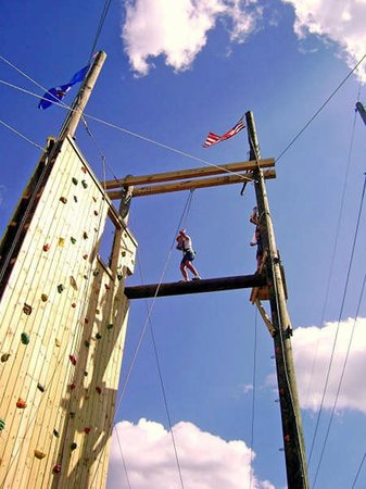 Aerial Adventures: ropes course/climbing
