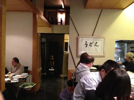 Oumi Sasaya: inside. good noodle bar