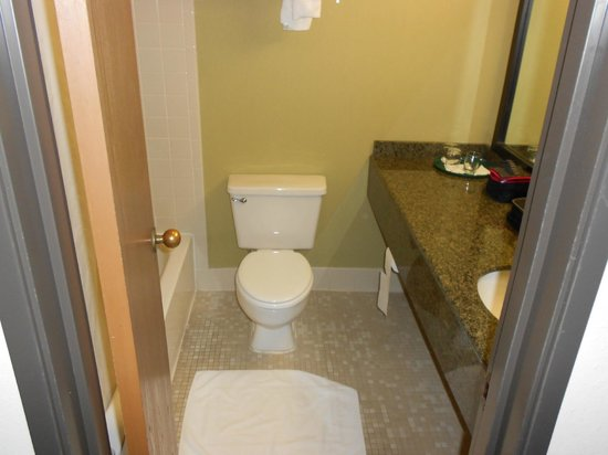 Windemere Hotel and Conference Center :                   The bathroom was ok