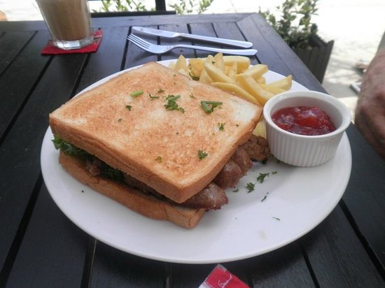 Delish Cafe: Previous visit of the same sandwich