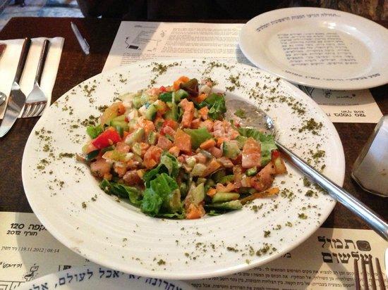 Tmol Shilshom: Jerusalem Salada