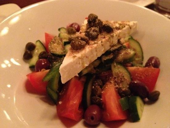Tholos: best Greek salad north of Toronto