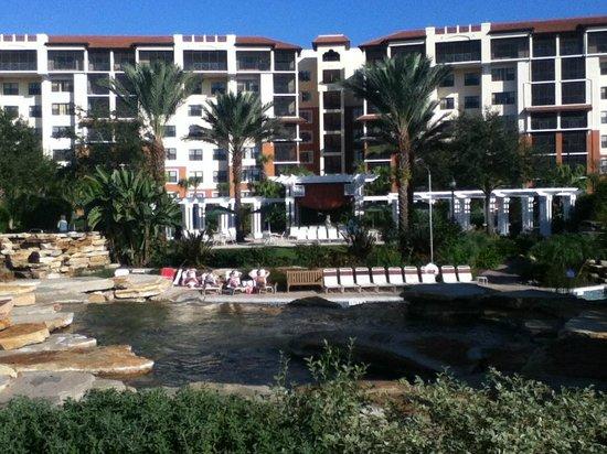 Holiday Inn Club Vacations At Orange Lake Resort:                   River Island area