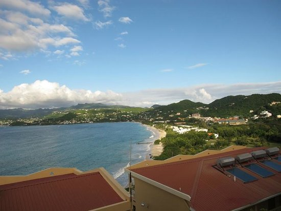 The Flamboyant Hotel & Villas : Fantastic view from room 237