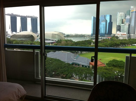 Swissotel The Stamford Singapore:                   View