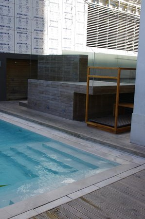 F1 Hotel Manila:                   F1 Best Western rectangular pool