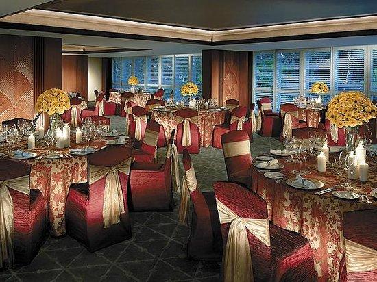 Shangri-La Hotel, Singapore: Garden Terrace - Gala Dinner set-up