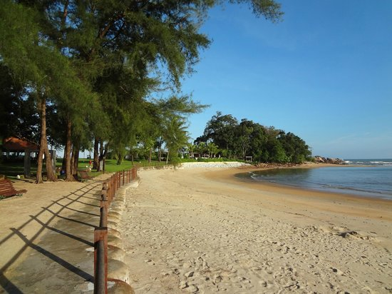 Club Med Cherating Beach: 3km de plage privée