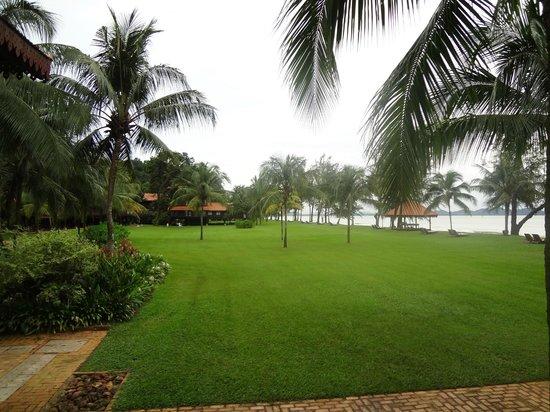 Club Med Cherating Beach: la plage au bout du jardin
