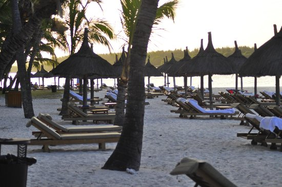 One&Only Le Saint Geran - TEMPORARILY CLOSED:                                     Beach