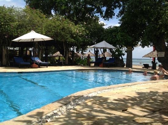 Matahari Terbit Bali Deluxe Bungalows:                   бассейн
