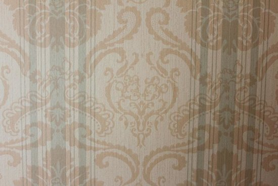 Disneyland Hotel: wallpaper in the room with Disney character