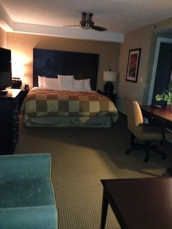 Homewood Suites by Hilton Salt Lake City - Downtown:                   main part of mini-suite
