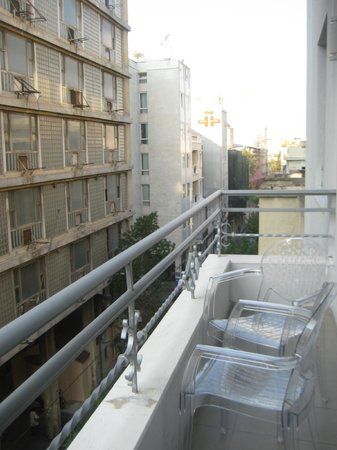 Athens Diamond Homtel:                   Another view from balcony
