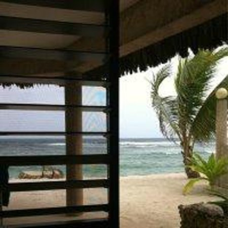 Surfside Vanuatu: view from our bed