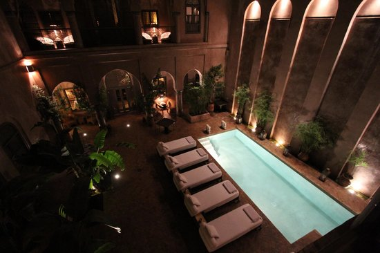 Riad Noir d'Ivoire:                   View from Room