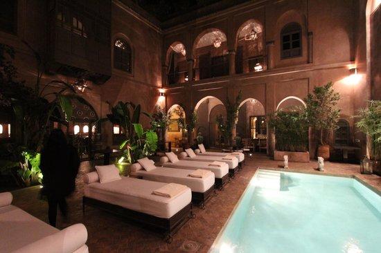 Riad Noir d'Ivoire:                   Pool Area