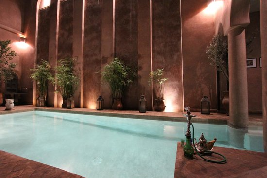 Riad Noir d'Ivoire:                   Heated Pool