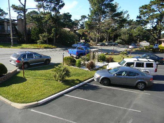 كلاريون كوليكشن باسيفيك جروف:                   view of parking lot island garden                 