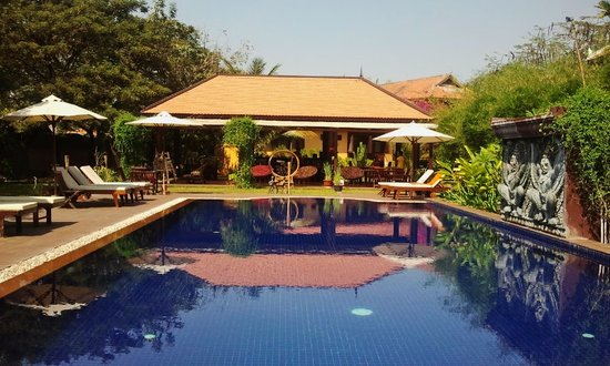 The Pool and Palm Villa: Serenity
