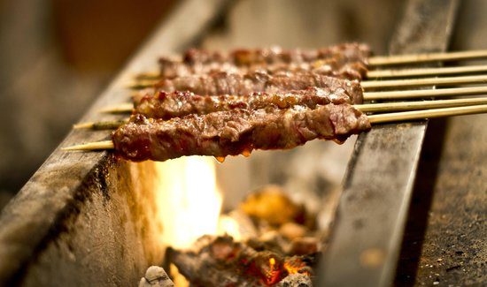 Charcoal Guido's: Arrosticini - Grilled lamb skewers
