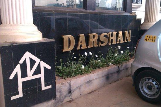 Hotel Darshan Ooty:                   Hotel Entrance