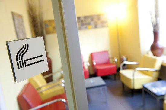 Hotel Hottingen: Smoking Lounge