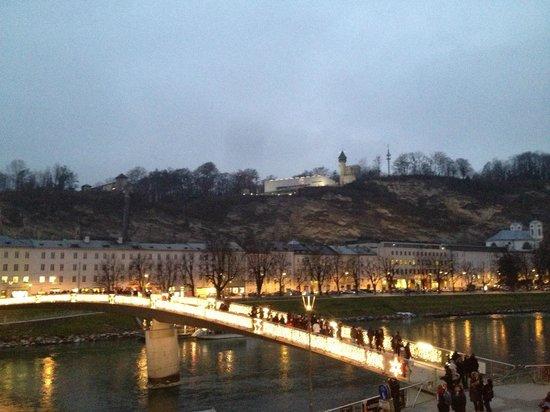 Hotel Sacher Salzburg: view from room