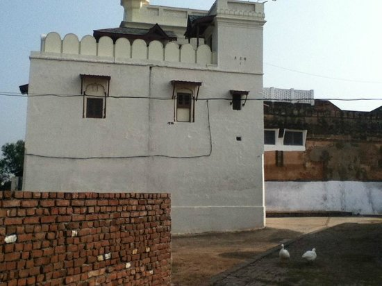 Bharatgarh Fort:                   view of Fort from the grounds