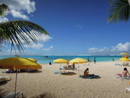 Managaha Island: main beach