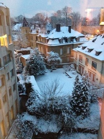 Le Royal Hotels & Resorts - Luxembourg:                   blick aus dem zimmer
