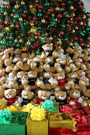 Le Meridien Angkor: You could buy a bear to give to a local kid