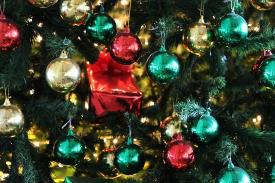 Le Meridien Angkor: Christmas tree