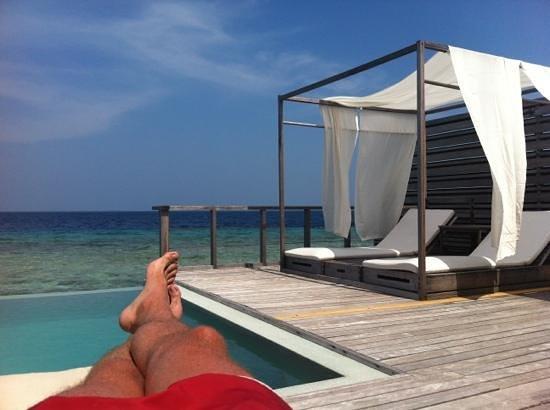 Dusit Thani Maldives:                   Ocean Villa