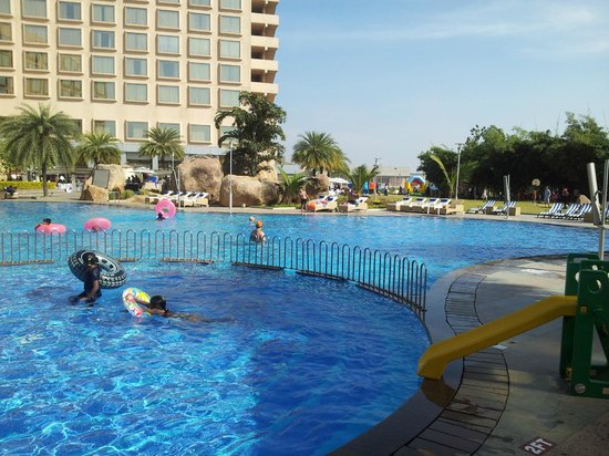 Novotel Hyderabad Convention Centre: Pool side